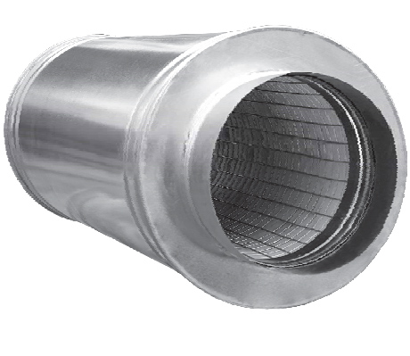 Silencers for round ducts TT-Group Одесса